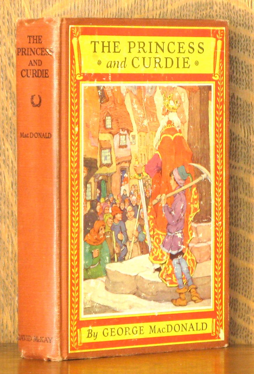 The Princess and Curdie (illustrated)
