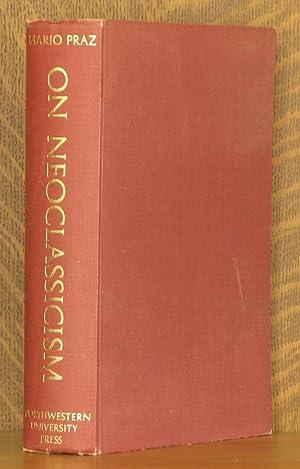 ON NEOCLASSICISM: Mario Praz, translated by Angus Davidson