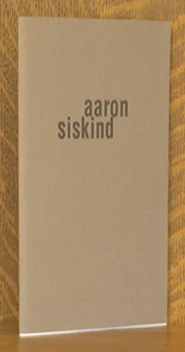 AARON SISKIND PHOTOGRAPHS 1944-1963: Aaron Siskind, curated
