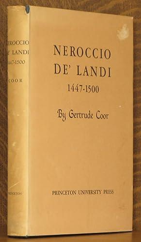 NEROCCIO DE' LANDI: Gertrude Coor