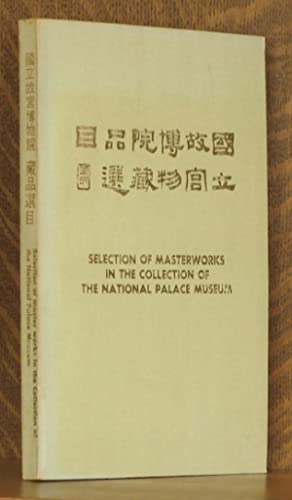 SELECTION OF MASTERWORKS IN THE COLLECTION OF: unknown