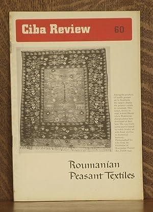 CIBA REVIEW NO. 60 SEPTEMBER, 1947 - ROUMANIAN PEASANT TEXTILES: W. Kundig, H. Wescher