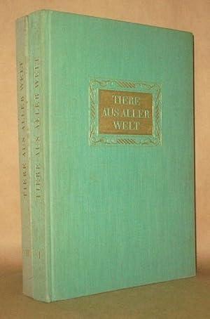 Tiere aus Aller Welt (2 Volumes-Complete): Hans Meirhofer, Illustrated by Anton Trieb