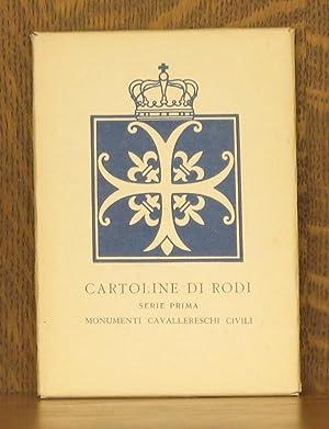 CARTOLINE DI RODI, SERIE PRIMA, MONUMENTI CAVALLERESCHI CIVILI: none