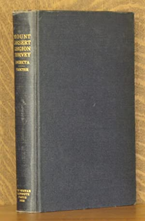 BIOLOGICAL SURVEY OF THE MOUNT DESERT REGION, PART VI, THE INSECT FAUNA (INCOMPLETE SET): William ...