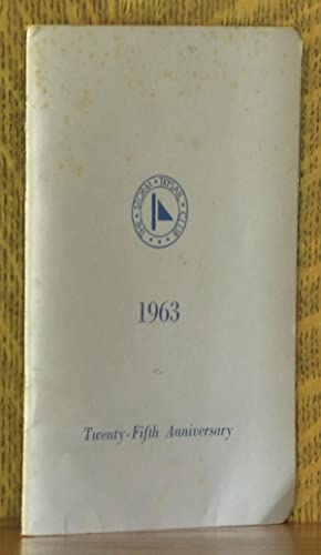 THE STORM TRYSAIL CLUB, 1963, TWENTY-FIFTH ANNIVERSARY: anonymous