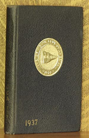 THE CRUISING CLUB OF AMERICA YEAR BOOK 1937: anonymous