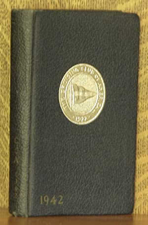 THE CRUISING CLUB OF AMERICA YEAR BOOK 1942: anonymous