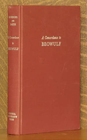 A CONCORDANCE TO BEOWULF: edited by J. B. Bessinger