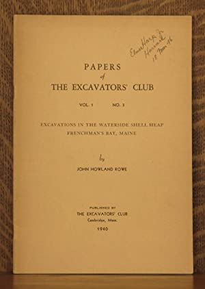 PAPERS OF THE EXCAVATORS' CLUB, VOL. 1, NO. 3, EXCAVATIONS IN THE WATERSIDE SHELL HEAP, ...