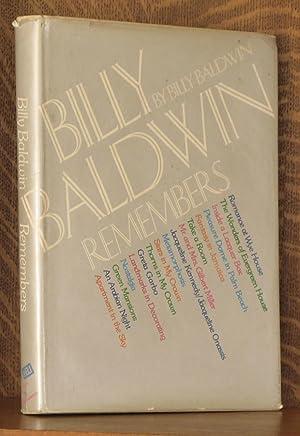 BILLY BALDWIN REMEMBERS: Billy Baldwin