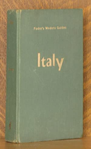 ITALY 1956, FODOR'S MODERN GUIDES: Edited by Eugene