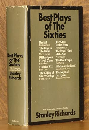 BEST PLAYS OF THE SIXTIES: Tennessee Williams, Jean Anouilh et al, edited by Stanley Richards