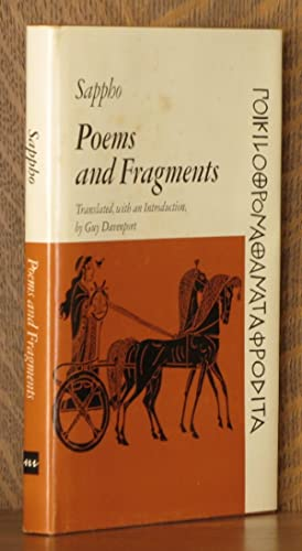 POEMS AND FRAGMENTS: Sappho, translated by Guy Davenport