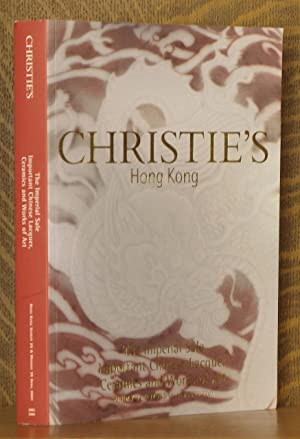 THE IMPERIAL SALE, IMPORTANT CHINESE LACQUER, CERAMICS AND WORKS OF ART, CHRISTIE'S, HONG KONG...