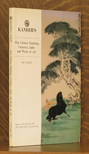 FINE CHINESE PAINTINGS, CERAMICS, JADES AND WORKS: anonymous