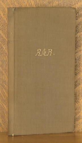 DAS BUCH DER BILDER: Rainer Maria Rilke
