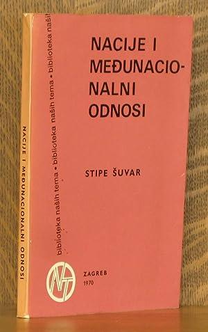 NACIJE I MEDUNACIONALNI ODNOSI U SOCIJALISTICKOJ JUGOSLVIJI: Stipe Suvar
