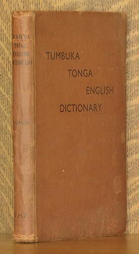TUMBUKA-TONGA ENGLISH DICTIONARY: William Y. Turner