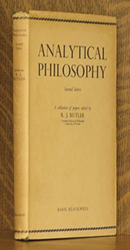 ANALYTICAL PHILOSOPHY, SECOND SERIES: edited by R. J. Butler