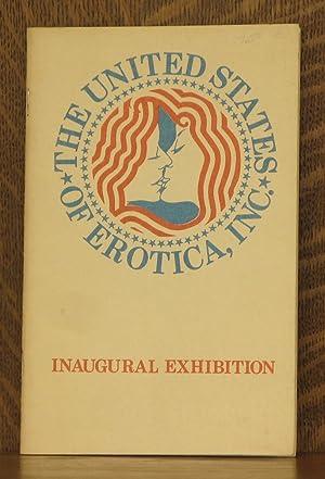THE UNITED STATES OF EROTICA INC., INAUGURAL EXHIBITION, THE GALLERY OF EROTIC ART: Leon Golumb, ...