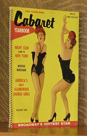 CABARET YEARBOOK, VOLUME TWO, SPRING VACATION NUMBER: various