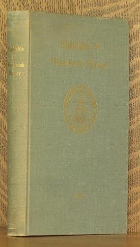 HIGHLIGHTS OF WESTBROOK HISTORY: Ernest R. Rowe