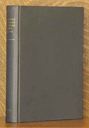 A SHORT-TITLE CATALOGUE OF BOOKS PRINTED IN ENGLAND, SCOTLAND, AND IRELAND, AND OF ENGLISH BOOKS ...