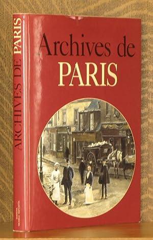 ARCHIVES DE PARIS: Jacques Borge and