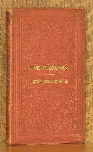 POEMS BEFORE CONGRESS: Elizabeth Barrett Browning