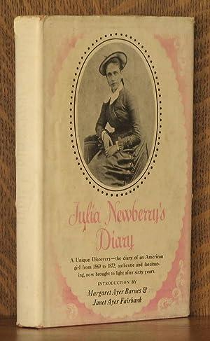 JULIA NEWBERRY'S DIARY: Julia Newberry, intro