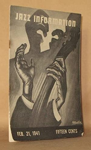 JAZZ INFORMATION Volume Two (2), Number Fourteen (14), February 21, 1941: Edited by Eugene Williams
