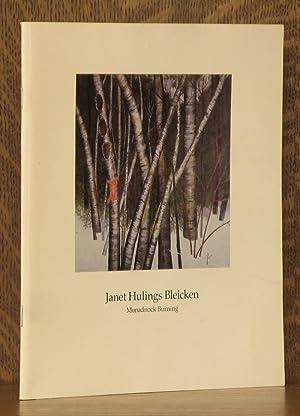 Janet Hulings Bleiken - Monadnock Burning: Robert M. Doty