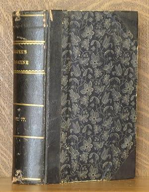 HARPER'S NEW MONTHLY MAGAZINE, VOL. LXXVII, JUNE TO NOVEMBER, 1888: various