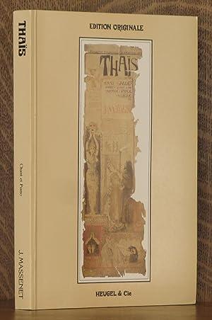 THAIS - COMEDIE LYRIQUE EN TROIS ACTES: Jules Massenet, Libretto