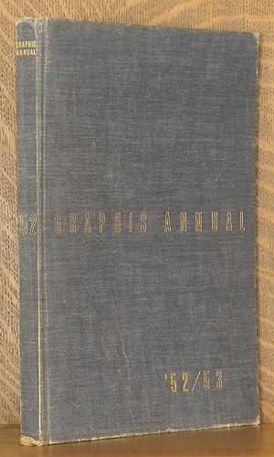 GRAPHIS ANNUAL, INTERNATIONAL ADVERTISING ART, 1952/53: edited by Walter Herdeg et al