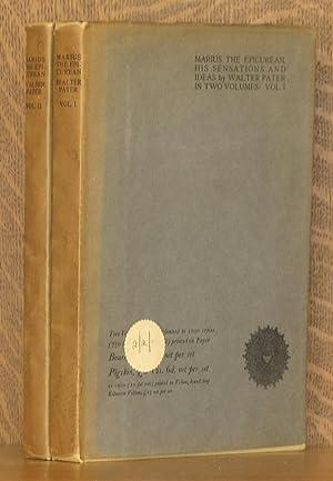 MARIUS THE EPICUREAN, HIS SENSATIONS AND IDEAS (2 VOL. SET - COMPLETE): Walter Pater