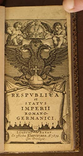 RESPUBLICA ET STATUS IMPERII ROMANO-GERMANICI (2 VOL SET - COMPLETE): unknown