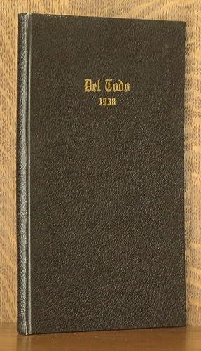 DEL TODO, 1938, WILBRAHAM ACADEMY YEARBOOK, MASS.: anonymous