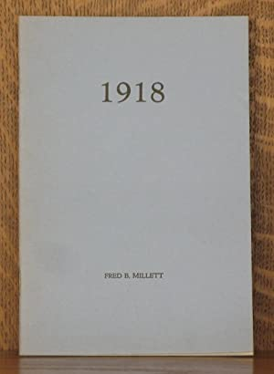 1918, EXCERPTS FROM A SERVICEMAN'S LETTERS: Fred B. Millett