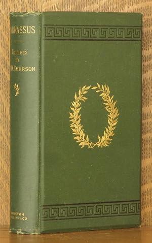 PARNASSUS: edited by Ralph Waldo Emerson