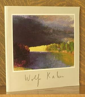 WOLF KAHN, NEW WORK 1987-1989, GRACE BORGENICHT: anonymous