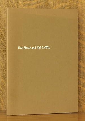 EVA HESSE AND SOL LEWITT, CRAIG F. STARR GALLERY: Eva Hesse and Sol Lewitt