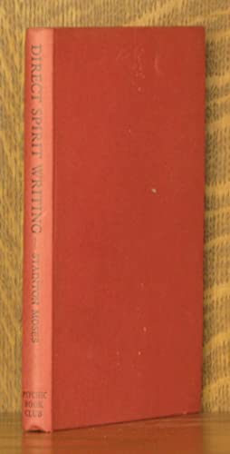 DIRECT SPIRIT WRITING (PSYCHOGRAPHY) A TREATISE.: W. Stanton Moses