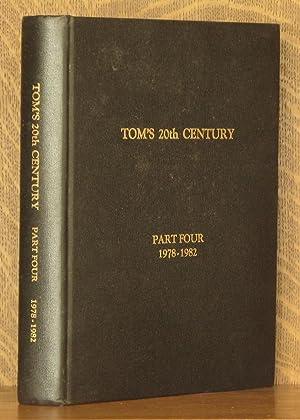 TOM'S 20TH CENTURY - THE AUTOBIOGRAPHY OF LENOX T. THORNTON - PART 4 1978-1982: Lenox T. ...