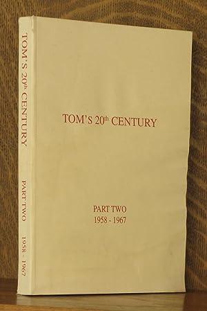 TOM'S 20TH CENTURY - THE AUTOBIOGRAPHY OF: Lenox T. Thornton