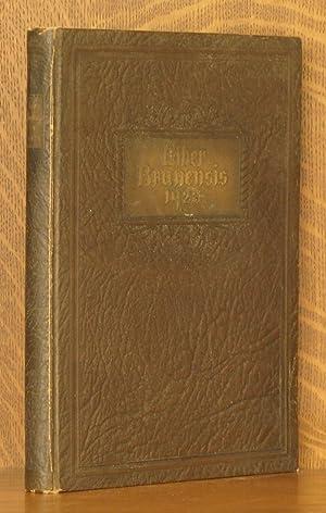 LIBER BRUNENSIS 1928 [BROWN UNIVERSITY YEARBOOK]: Joseph G. Merchant, editor-in-chief