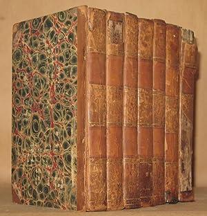 MEMOIRS OF THE LIFE OF SIR WALTER SCOTT, BART. (7 VOLUMES COMPLETE): J.G. Lockhart