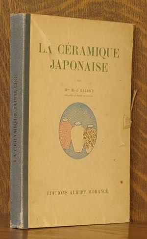 LA CERAMIQUE JAPONAISE: M.-J. Ballot