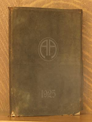 THE CIRCLE - ABBOT ACADEMY ANDOVER MASS. YEARBOOK 1925: Elaine Boutwell, editor-in chief